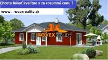 Predaj,  rodinný dom - novostavba, celá SR